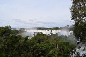 Wasserfälle aus Sicht einer der Trails