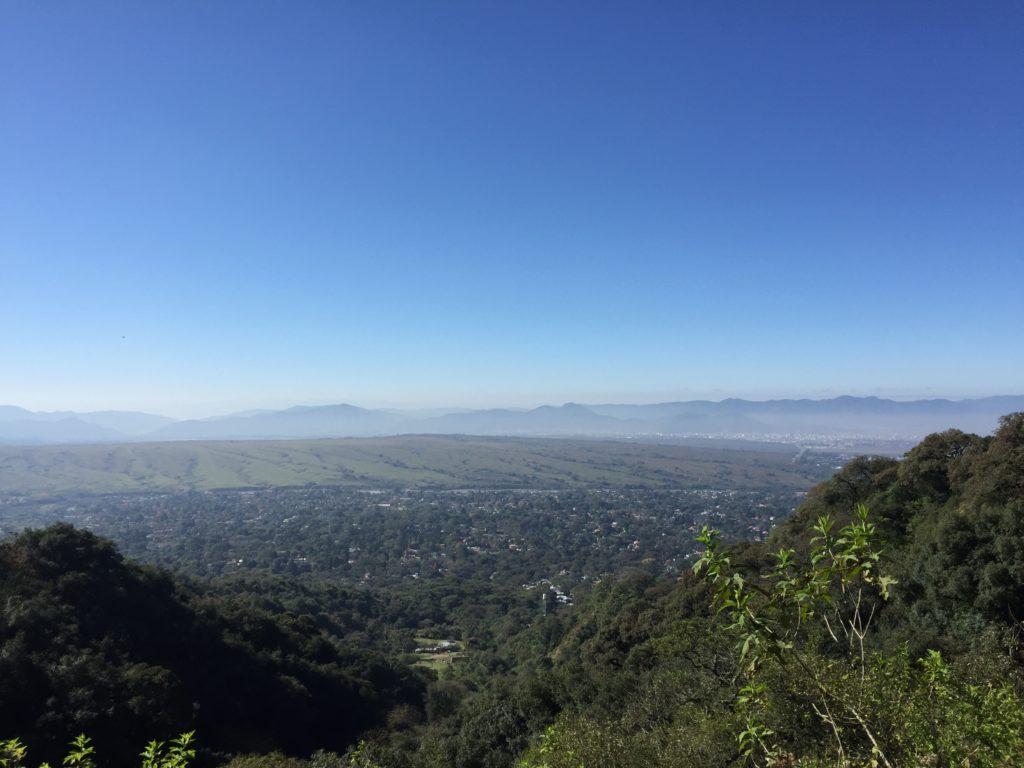 Ausblick von unserer Wanderung