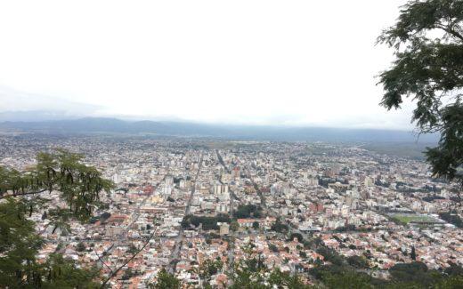 Ausblick Correo San Bernardo
