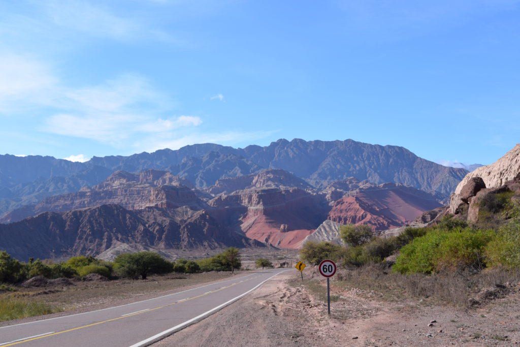 Ausblick auf der Ruta 68